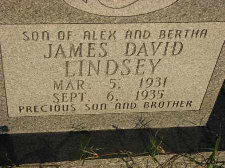 LINDSEY, JAMES DAVID - Poinsett County, Arkansas | JAMES DAVID LINDSEY - Arkansas Gravestone Photos