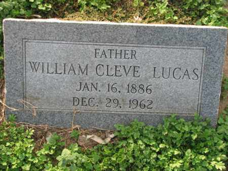 LUCAS, WILLIAM CLEVE - Poinsett County, Arkansas | WILLIAM CLEVE LUCAS - Arkansas Gravestone Photos