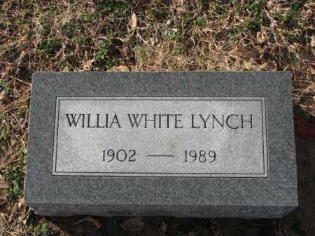 LYNCH, WILLIAM WHITE - Poinsett County, Arkansas   WILLIAM WHITE LYNCH - Arkansas Gravestone Photos