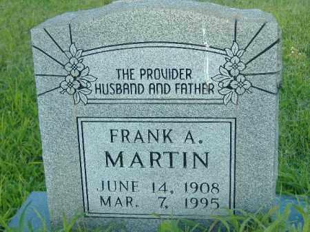 MARTIN, FRANK A - Poinsett County, Arkansas   FRANK A MARTIN - Arkansas Gravestone Photos