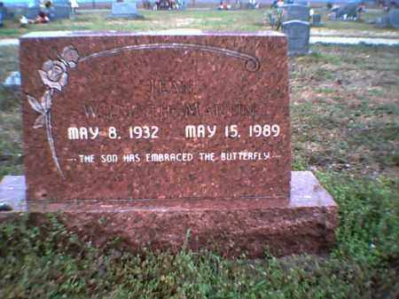 WILMOTH MARTIN, HELEN IMOGEN - Poinsett County, Arkansas | HELEN IMOGEN WILMOTH MARTIN - Arkansas Gravestone Photos