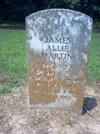 MARTIN (VETERAN WWI), JAMES ALLIE - Poinsett County, Arkansas | JAMES ALLIE MARTIN (VETERAN WWI) - Arkansas Gravestone Photos