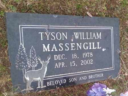 MASSENGILL, TYSON WILLIAM - Poinsett County, Arkansas | TYSON WILLIAM MASSENGILL - Arkansas Gravestone Photos
