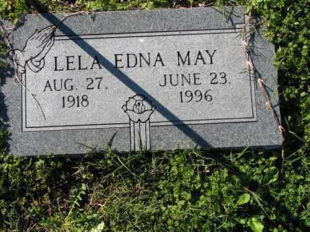 MAY, LELA EDNA - Poinsett County, Arkansas | LELA EDNA MAY - Arkansas Gravestone Photos