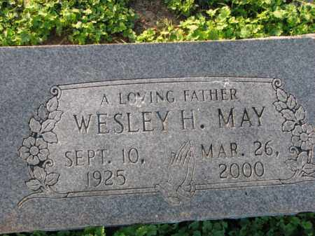 MAY, WESLEY H. - Poinsett County, Arkansas | WESLEY H. MAY - Arkansas Gravestone Photos