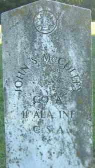 MCCULLEY  (VETERAN CSA), JOHN S. - Poinsett County, Arkansas | JOHN S. MCCULLEY  (VETERAN CSA) - Arkansas Gravestone Photos