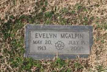 MCALPIN, EVELYN - Poinsett County, Arkansas | EVELYN MCALPIN - Arkansas Gravestone Photos