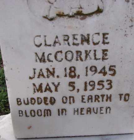 MCCORKLE, CLARENCE - Poinsett County, Arkansas | CLARENCE MCCORKLE - Arkansas Gravestone Photos
