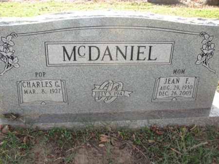 MCDANIEL, JEAN F. - Poinsett County, Arkansas | JEAN F. MCDANIEL - Arkansas Gravestone Photos
