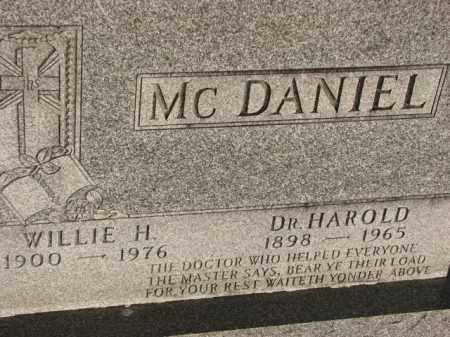 MCDANIEL, WILLIE H. - Poinsett County, Arkansas   WILLIE H. MCDANIEL - Arkansas Gravestone Photos