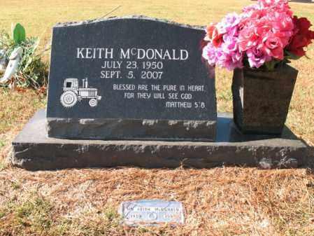 MCDONALD, KEITH - Poinsett County, Arkansas   KEITH MCDONALD - Arkansas Gravestone Photos