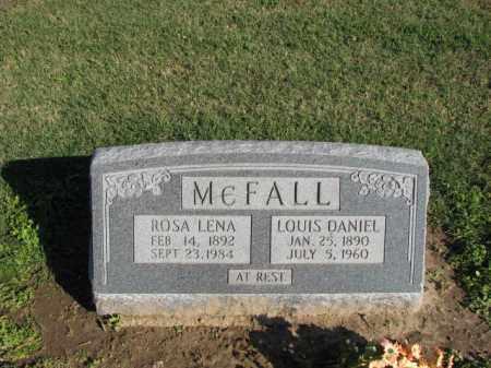 MCFALL, ROSA LENA - Poinsett County, Arkansas   ROSA LENA MCFALL - Arkansas Gravestone Photos