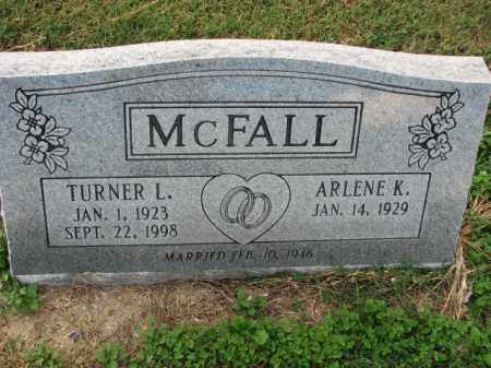 MCFALL, TURNER L. - Poinsett County, Arkansas | TURNER L. MCFALL - Arkansas Gravestone Photos