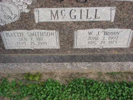 SMITHSON MCGILL, HATTIE - Poinsett County, Arkansas | HATTIE SMITHSON MCGILL - Arkansas Gravestone Photos