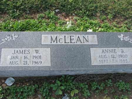 MCLEAN, ANNIE B. - Poinsett County, Arkansas | ANNIE B. MCLEAN - Arkansas Gravestone Photos