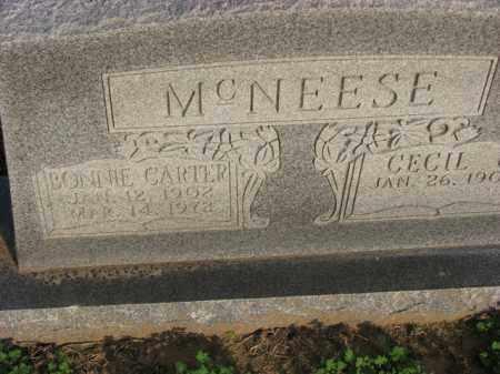 MCNEESE, BONNIE - Poinsett County, Arkansas   BONNIE MCNEESE - Arkansas Gravestone Photos