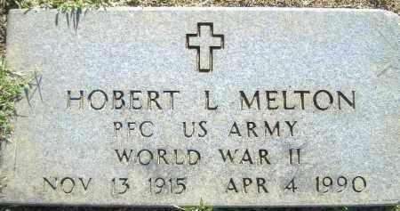 MELTON  (VETERAN WWII), HOBERT L. - Poinsett County, Arkansas | HOBERT L. MELTON  (VETERAN WWII) - Arkansas Gravestone Photos