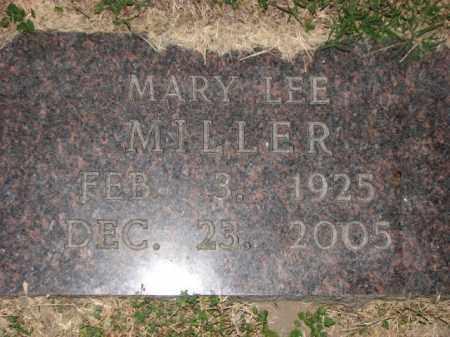 MILLER, MARY LEE - Poinsett County, Arkansas | MARY LEE MILLER - Arkansas Gravestone Photos