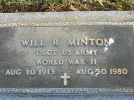MINTON  (VETERAN WWII), WILL R - Poinsett County, Arkansas   WILL R MINTON  (VETERAN WWII) - Arkansas Gravestone Photos