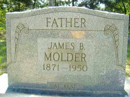 MOLDER, JAMES B. - Poinsett County, Arkansas | JAMES B. MOLDER - Arkansas Gravestone Photos