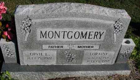 MONTGOMERY, LORAINE - Poinsett County, Arkansas   LORAINE MONTGOMERY - Arkansas Gravestone Photos