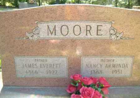 MOORE, JAMES EVERETT - Poinsett County, Arkansas | JAMES EVERETT MOORE - Arkansas Gravestone Photos