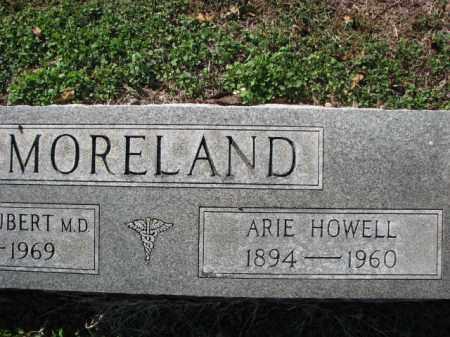HOWELL MORELAND, ARIE - Poinsett County, Arkansas | ARIE HOWELL MORELAND - Arkansas Gravestone Photos