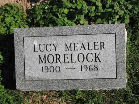 MEALER MORELOCK, LUCY - Poinsett County, Arkansas   LUCY MEALER MORELOCK - Arkansas Gravestone Photos