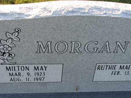 MORGAN (VETERAN WWII), MILTON MAY - Poinsett County, Arkansas | MILTON MAY MORGAN (VETERAN WWII) - Arkansas Gravestone Photos