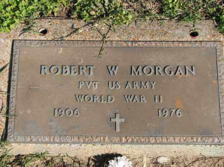 MORGAN (VETERAN WWII), ROBERT W - Poinsett County, Arkansas | ROBERT W MORGAN (VETERAN WWII) - Arkansas Gravestone Photos