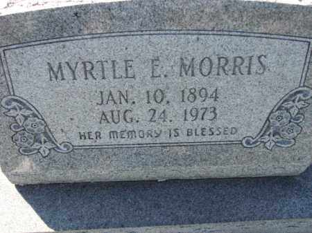MORRIS, MYRTLE E. - Poinsett County, Arkansas | MYRTLE E. MORRIS - Arkansas Gravestone Photos