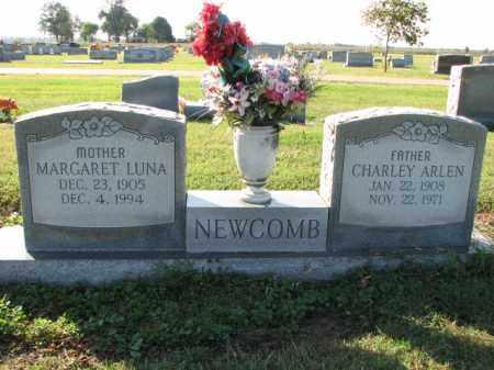 NEWCOMB, MARGARET LUNA - Poinsett County, Arkansas | MARGARET LUNA NEWCOMB - Arkansas Gravestone Photos