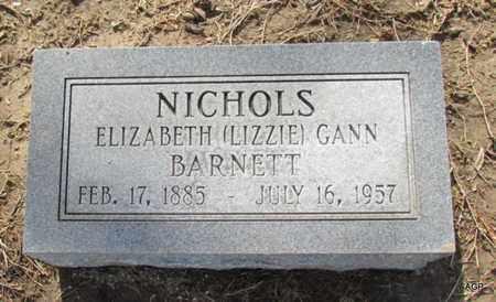 "BARNETT, ELIZABETH ""LIZZIE"" - Poinsett County, Arkansas | ELIZABETH ""LIZZIE"" BARNETT - Arkansas Gravestone Photos"