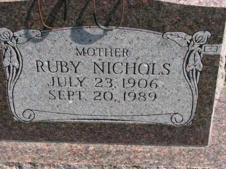 NICHOLS, RUBY - Poinsett County, Arkansas | RUBY NICHOLS - Arkansas Gravestone Photos