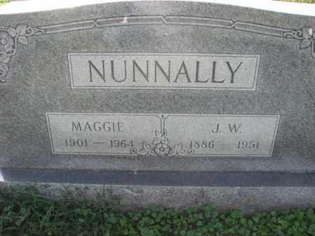 NUNNALLY, J.W. - Poinsett County, Arkansas   J.W. NUNNALLY - Arkansas Gravestone Photos