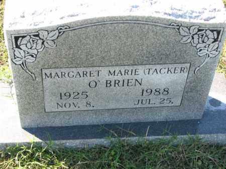 TACKER O'BRIEN, MARGARET MARIE - Poinsett County, Arkansas | MARGARET MARIE TACKER O'BRIEN - Arkansas Gravestone Photos
