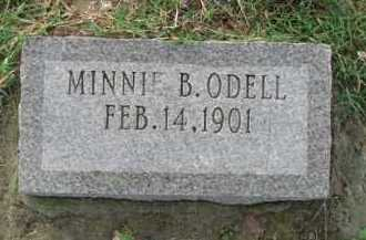 B. ODELL, MINNIE - Poinsett County, Arkansas | MINNIE B. ODELL - Arkansas Gravestone Photos