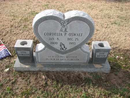OSWALT, CORDELIA P. - Poinsett County, Arkansas | CORDELIA P. OSWALT - Arkansas Gravestone Photos