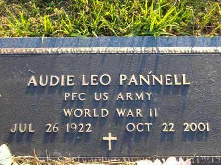 PANNELL  (VETERAN WWII), AUDIE LEO - Poinsett County, Arkansas | AUDIE LEO PANNELL  (VETERAN WWII) - Arkansas Gravestone Photos