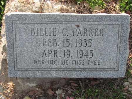 PARKER, BILLIE C. - Poinsett County, Arkansas   BILLIE C. PARKER - Arkansas Gravestone Photos