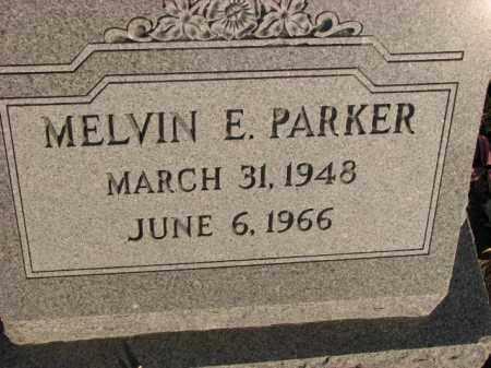 PARKER, MELVIN E. - Poinsett County, Arkansas | MELVIN E. PARKER - Arkansas Gravestone Photos