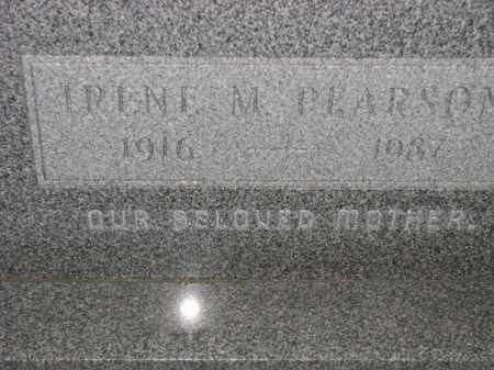 PEARSON, IRENE M. - Poinsett County, Arkansas   IRENE M. PEARSON - Arkansas Gravestone Photos