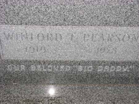 PEARSON, WINFORD T. - Poinsett County, Arkansas | WINFORD T. PEARSON - Arkansas Gravestone Photos
