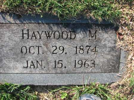 PETTIGREW, HAYWOOD M. - Poinsett County, Arkansas   HAYWOOD M. PETTIGREW - Arkansas Gravestone Photos