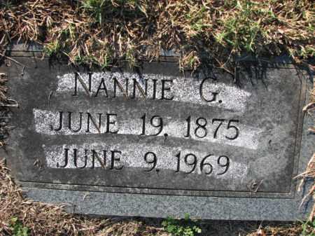 PETTIGREW, NANNIE G. - Poinsett County, Arkansas | NANNIE G. PETTIGREW - Arkansas Gravestone Photos