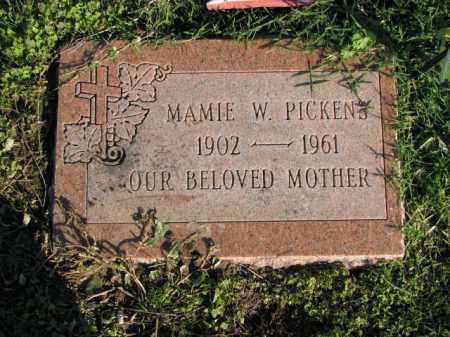 PICKENS, MAMIE W. - Poinsett County, Arkansas | MAMIE W. PICKENS - Arkansas Gravestone Photos