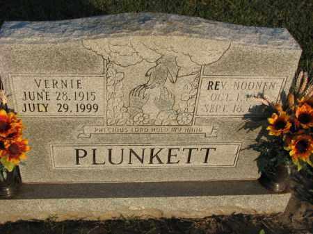 PLUNKETT, NOONEN - Poinsett County, Arkansas | NOONEN PLUNKETT - Arkansas Gravestone Photos