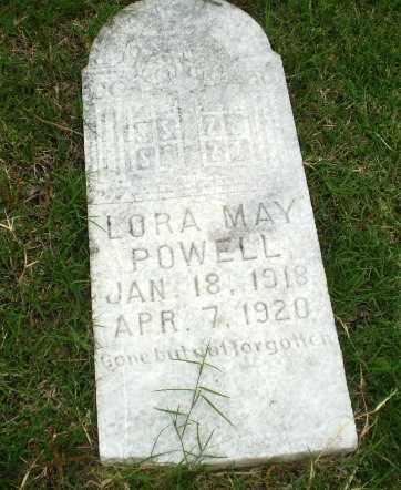 POWELL, LORA MAY - Poinsett County, Arkansas   LORA MAY POWELL - Arkansas Gravestone Photos