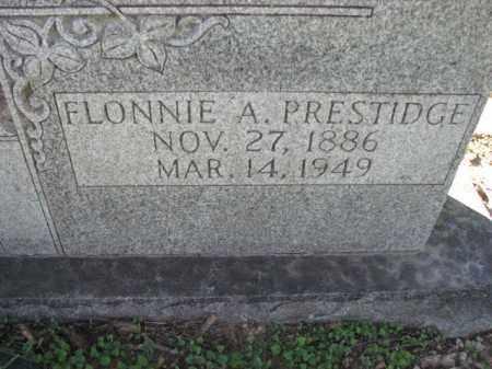 PRESTIDGE, FLONNIE A. - Poinsett County, Arkansas | FLONNIE A. PRESTIDGE - Arkansas Gravestone Photos