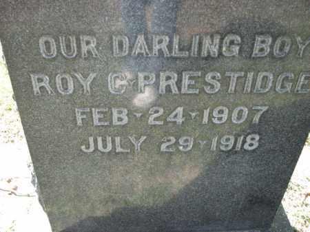PRESTIDGE, ROY C. - Poinsett County, Arkansas | ROY C. PRESTIDGE - Arkansas Gravestone Photos